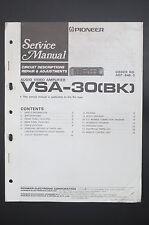 PIONEER VSA-30 Original Service-Manual/Anleitung/Schaltplan! o40