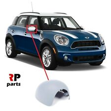 FOR MINI COOPER ONE CLUBMAN 07-15 WING MIRROR COVER CAP PRIMED RIGHT NO FOLDING