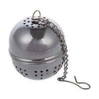 Mehrweg Edelstahlgewebe Infuser Schmutzfaenger Teefilter Tea Kugel Tasse I4S1