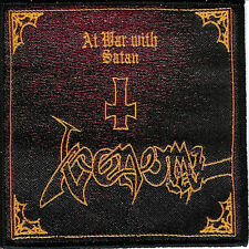 Venom At War patch Cronos Abbadon Mantas Baphomet Bathory Black Metal NWOBHM 666