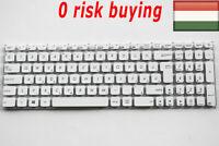 For Asus R541S R541SA F541S F541SA F541U Laptop Keyboard Hungarian Magyar White