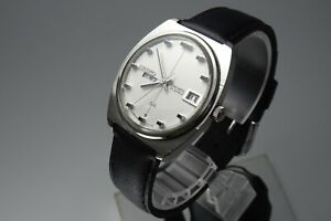 Vintage 1969 JAPAN SEIKO LORD MATIC WEEKDATER 5606-7100 23Jewels Automatic.