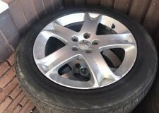 "PEUGEOT 407 E7 EXPERT FIAT SCUDO CITROEN DISPATCH ALLOYS WITH TYRES 17"" 04-10"