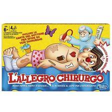 L'ALLEGRO CHIRURGO gioco società B2176456 Hasbro -nuovo-Italia