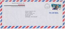 (USQ-64) 1991 USA 50c Air mail envelope to TROPEX Exports NZ (BN)