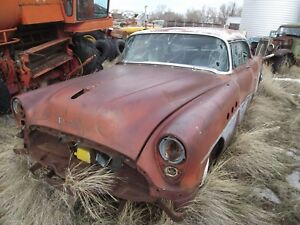 1 54 Buick  2 dr and 4 door 54 parts car.