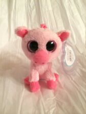 """ty Beanie Boo's CORKY clip, the 3"""" piglet, 2011, NMWMT"""