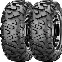 26x10R-15 MAXXIS BIGHORN RADIAL M918 REAR ATV UTV TIRES (SET OF 2) 26x10x15