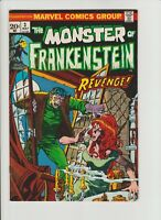 The Monster of FRANKENSTEIN # 3, Vol. 1, Marvel  1973, NM- (0-) Ploog