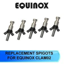 RHINO REPLACEMENT SPIGOTS CLAM02A FOR QUICK CLAMP CLAM02 PACK OF 5