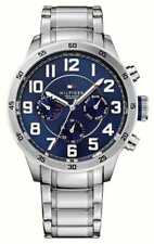 Brand New Tommy Hilfiger Trent Stainless Steel Mens Chronograph Watch 1791053