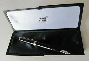 Vintage MONTBLANC Fountain Pen NO.146 with (4810 14k M Nib) In Box Perfect