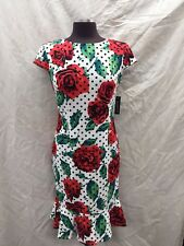 """GLAMOUR DRESS /NEW WITH TAG/SIZE 14/RETAIL$100/STRETCH FABRIC/LENGTH 38"""""""