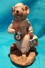 Rare Stone Critters Wee Willie Wilkie Mouse Figure Very Rare SC-399