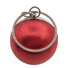 Women Round Handbag Shoulder Messenger Phone Ball Bag Purse Party Evening Clutch