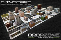 NEW - Dropzone Commander - Cityscape Pack - Hawk Wargames DZC-99004