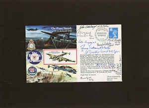 1990 The Major Assault cover signed by 10 Battle of Britain participants