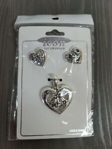 Mothers Day Gift Necklace Mom and Daughter Love Heart Charm Pendant For Mom USA