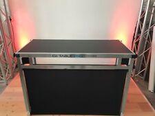"""""""Aussteller"""" Portabler DJ Tisch """"DJ Table Pro"""" aus Alu 120 x 60 cm Tischfläche"""