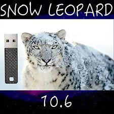 Mac OS X Snow Leopard OSX 10.6 USB Install Reinstall Recovery MacBook iMac Mini