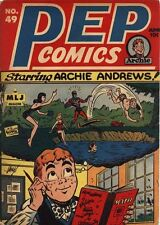 Pep Comics #49 Photocopy Comic Book 1st Starring Archie Cover Issue