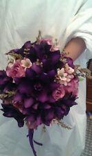 CADBURY'S PURPLE BRIDAL BOUQUET WEDDING