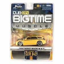 Jada Dub City BigTime Muscle 06 2006 Dodge Magnum R/T Yellow Die Cast 1/64 Scale