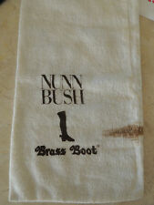 Used Nun Bush  BRASS BOOTH BAG  FOR ONE SHOE