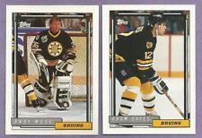 1992-93 Topps Boston Bruins Team Set