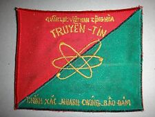 "Vietnam War ARVN South Vietnamese Army SIGNAL COMMUNICATIONS ""TRUYEN TIN"" Patch"