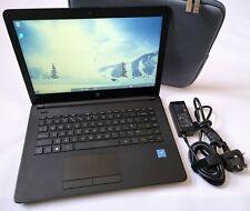 HP Notebook 14-bs057sa Intel Celeron 4GB RAM 1TB HDD Windows 10 Black +Bag