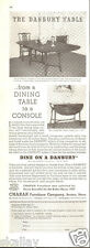 1937 Print Ad of Charak Funiture Co Danbury Dining Console Table