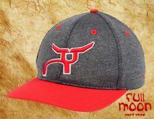 New Rope Smart Rig Rider Mens Retro Red Snapback Hat Cap