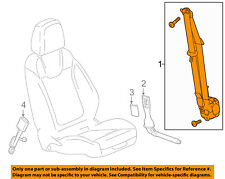 Chevrolet GM OEM 16-18 Malibu Front Seat Belts-Belt & Retractor Left 19355142