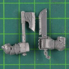Schwarzorks Nahkampf Waffen A Warhammer Orks & Goblins Bitz 8487