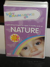 Baby Brainworks Nature (DVD) Captivating Images Ages 3 Months and Up! BRAND NEW