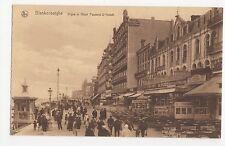 Belgium, Blankenberghe, Digue et Hotel Pauwels-D'Hondt Postcard, A503