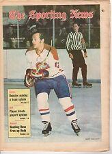 The Sporting News, 4/3/1971, Hockey magazine, Yvan Cournoyer, Montreal Canadiens