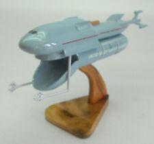 Quark Garbage Scow Spacecraft Wood Model Spaceship New