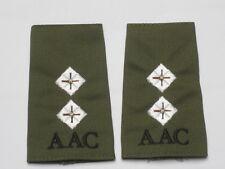 DISTINTIVO DI GRADO : Tenente,Army ARIA Corps,Oliva,AAC,Pilota Aereo militare
