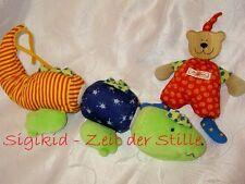 SIGIKID Krokodil Klett & Bär Greifling Spielzeug