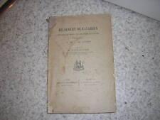1898.Hildebert de Lavardin / Dieudonné.Le Mans Tours.moyen age