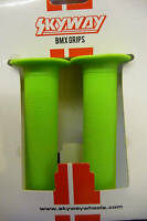 Skyway TUFF Handlebar BMX Grips (pr) green  new!