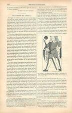Cartes à Jouer Bibliothèque Nationale de Paris Manuscrit GRAVURE OLD PRINT 1880