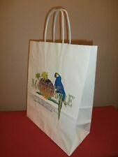 Official Jimmy Buffett's Margaritaville Gift/Shopping Bag Las Vegas Parrot Logo