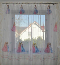 - 132 -Kinderzimmer Gardine Prinzessin Princess   Gardinen Vorhänge Schals
