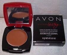 AVON! Extra Lasting Cream to Powder. SABLE (L-FCC6). Full Size. Women/Jrs. NEW