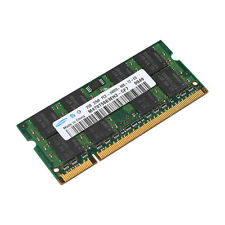 For Samsung 2GB DDR2-800 MHZ PC2-6400 200PIN Laptop memory Intel Motherboard