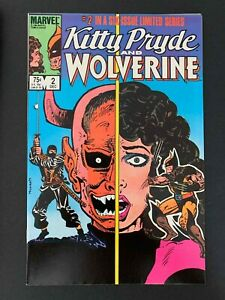 KITTY PRYDE AND WOLVERINE #2  MARVEL COMICS 1984 VF+