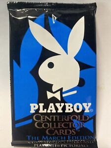 Playboy Centrefold Collector Trading Cards 40 YEARS OF MARCH 1995 Sealed Booster